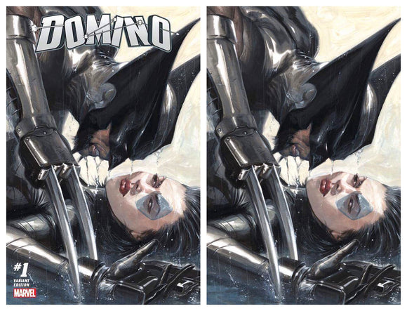 DOMINO #1 Dell 'Otto SET (Trade & Virgin)! LIMITED To ONLY 1000 SETS!! - Mutant Beaver Comics