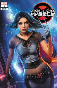 FALLEN ANGELS #1 SHANNON MAER EXCLUSIVE! ***Available in TRADE DRESS and VIRGIN SET*** - Mutant Beaver Comics