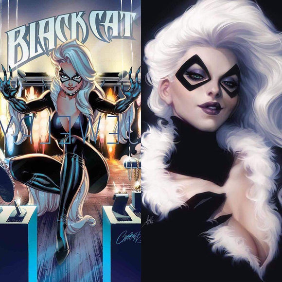 Pre-Order: BLACK CAT #1 Spec Pack! (Cover A - JSC; Cover B - Artgerm)