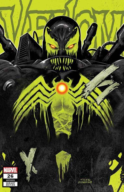 Pre-Order: VENOM #26 TYLER KIRKHAM EXCLUSIVE! ***Available in TRADE DRESS, VIRGIN, & SECRET VARIANT*** (07/22/2020) - Mutant Beaver Comics