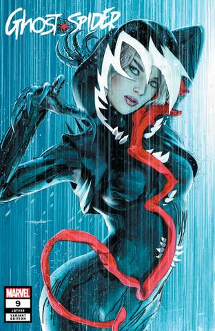 Pre-Order: GHOST-SPIDER #9 Mike Mayhew EXCLUSIVE! ***Available in TRADE DRESS & VIRGIN SET!***