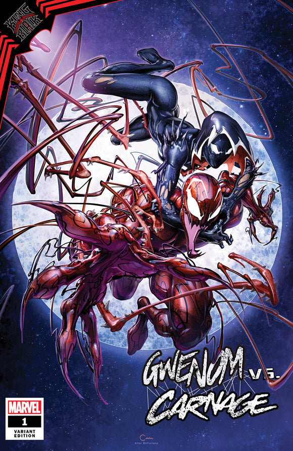 Pre-Order: GWENOM vs CARNAGE #1 Clayton Crain Exclusive! 01/30/21 - Mutant Beaver Comics