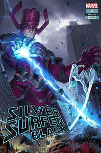 SILVER SURFER BLACK #1 Junggeun Yoon EXCLUSIVE! ***Available in TRADE DRESS, VIRGIN SET, and CGC 9.8***