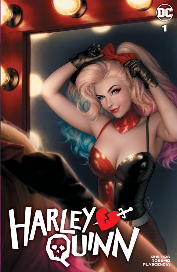HARLEY QUINN #1 Warren Louw Exclusive!
