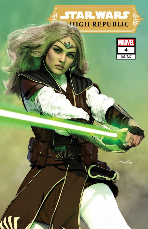 Pre-Order: STAR WARS: HIGH REPUBLIC #4 Mike Mayhew Exclusive! 04/28/21