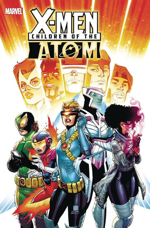 Pre-Order: CHILDREN OF ATOM #1 BERNARD CHANG 1:25 RATIO VARIANT 01/31/21 - Mutant Beaver Comics