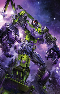 TRANSFORMERS GALAXIES #1 Clayton Crain Virgin Exclusive! ***Ltd to 500 w/ COA!***