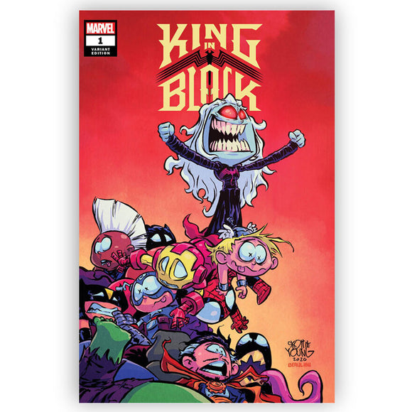 Pre-Order: KING IN BLACK #1 Skottie Young Exclusive! ***ONLY 5 LEFT!*** 12/30/20