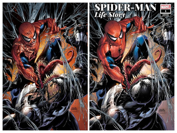 Pre-Order: SPIDER-MAN: Life Story #1 Tyler Kirkham Exclusive SET (Trade +