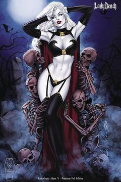 LADY DEATH APOCALYPTIC ABYSS #1 (OF 2) CHATZOUDIS PREM FOIL