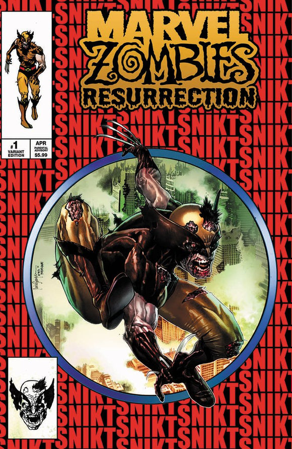 Pre-Order: MARVEL ZOMBIES RESURRECTION #1 Mico Suayan Exclusive! 09/16/20 - Mutant Beaver Comics