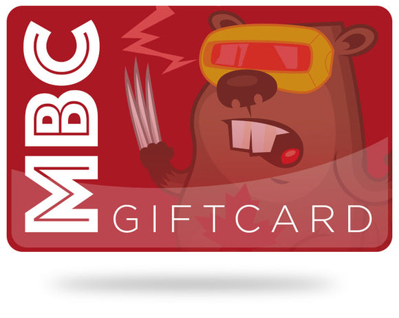 MBC Gift Card - Mutant Beaver Comics