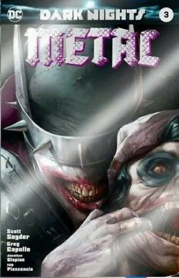 Dark Nights Metal #3 Mattina FOIL EXCLUSIVE variant ~ Batman Who Laughs - Mutant Beaver Comics