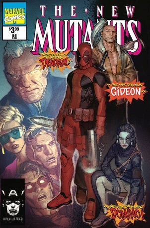 NEW MUTANTS #98 Facsimile Edition GERALD PAREL Homage Exclusive! - Mutant Beaver Comics