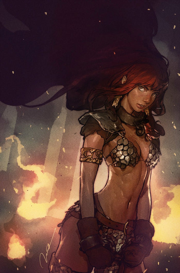 RED SONJA BIRTH OF THE SHE-DEVIL #1 Gerald Parel VIRGIN Exclusive! ***Ltd to ONLY 500 Copies!***