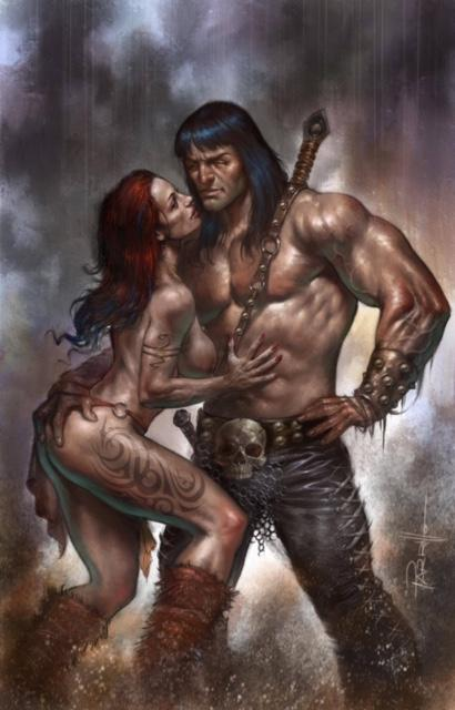 Pre-Order: CIMMERIAN RED NAILS #1 Lucio Parrillo VIRGIN Exclusive! ***Ltd to ONLY 400!***