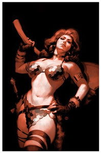 KILLING RED SONJA #1 Julian Tedesco VIRGIN Exclusive! ***Limited to ONLY 400 Copies!*** - Mutant Beaver Comics