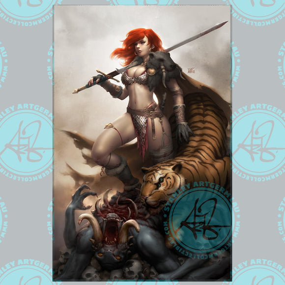 Pre-Order: RED SONJA: THE PRICE OF BLOOD #2 ART BY KUNKKA EXCLUSIVE! 01/30/21 - Mutant Beaver Comics