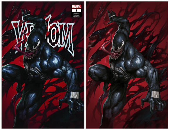 VENOM #1 SKAN Exclusive SET (Trade Dress & Virgin) ONLY 1000 Sets! - Mutant Beaver Comics