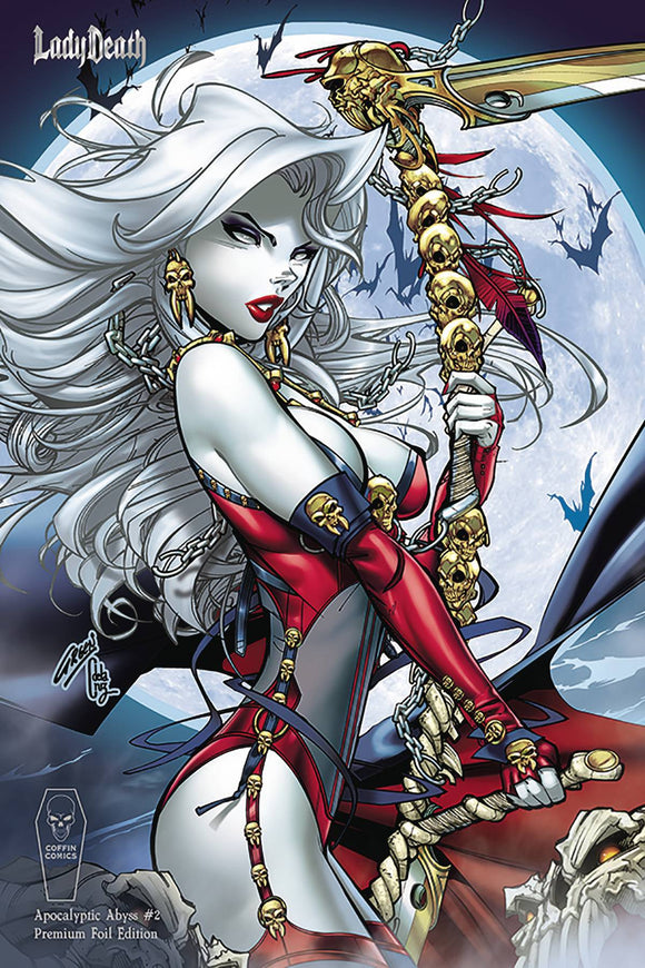 LADY DEATH APOCALYPTIC ABYSS #2 (OF 2) PAUL GREEN PREM FOIL