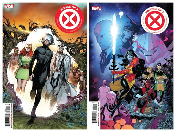 HOUSE of X #1 / POWERS of X #1 Cover A SPEC PACK!! ***RED HOT!!*** - Mutant Beaver Comics
