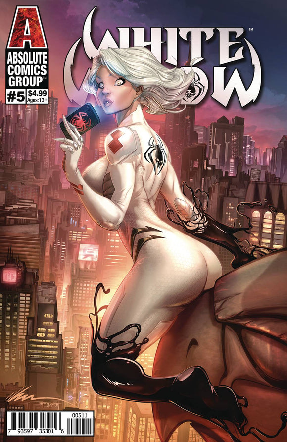 Pre-Order: WHITE WIDOW #5 CVR A GARZA - Mutant Beaver Comics