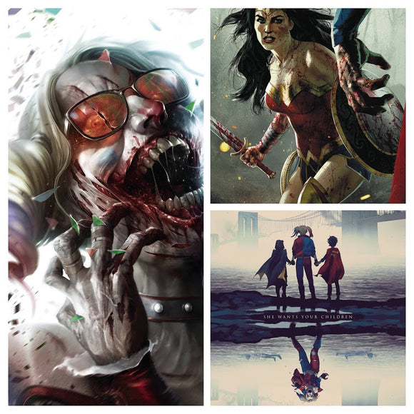 DCeased #5 SPEC PACK (All 3 Covers!) ***BEST VALUE!*** - Mutant Beaver Comics