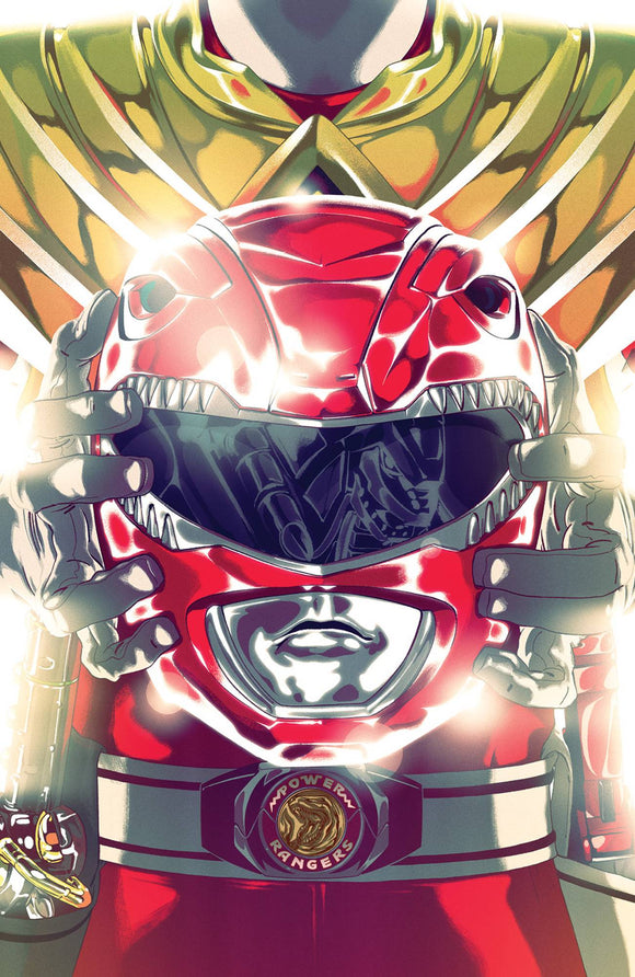 MIGHTY MORPHIN POWER RANGERS #46 FOIL MONTES VARIANT! - Mutant Beaver Comics