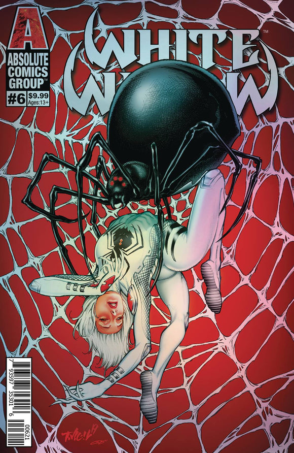 Pre-Order: WHITE WIDOW #6 CVR B TIM VIGIL HOLO METALLIC INK - Mutant Beaver Comics