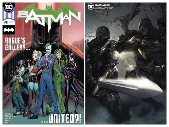 BATMAN #89 (Cameo of Punchline!) 1st Print! ***VERY LIMITED QUANTITY!*** Cover A, B, and Combo Set Available!