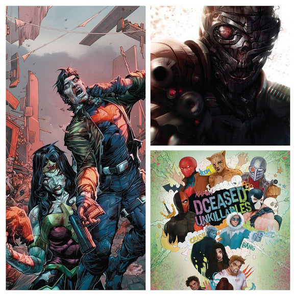 Pre-Order: DCeased Unkillables #3 SPEC PACK (48 pg Issues - All 3 Covers!) ***BEST VALUE!*** - Mutant Beaver Comics