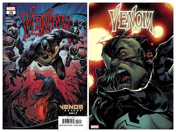 Pre-Order: VENOM #28 Cover A/B SPEC PACK! (5 copies of each issue!) 09/16/20 - Mutant Beaver Comics