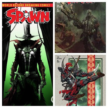 SPAWN #310 Complete Set (Covers A/B/C) - Mutant Beaver Comics