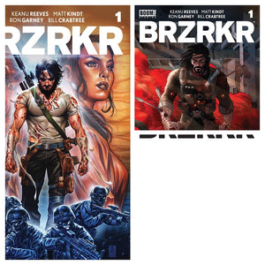 Pre-Order: BRZRKR #1 Complete Set (Covers A-E) 5 Covers in Total! 03/07/21