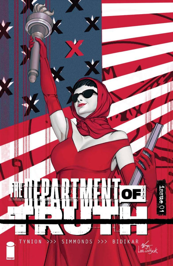 Pre-Order: DEPARTMENT OF TRUTH #1 1:25 INHYUK LEE RATIO VARIANT! 09/30/20