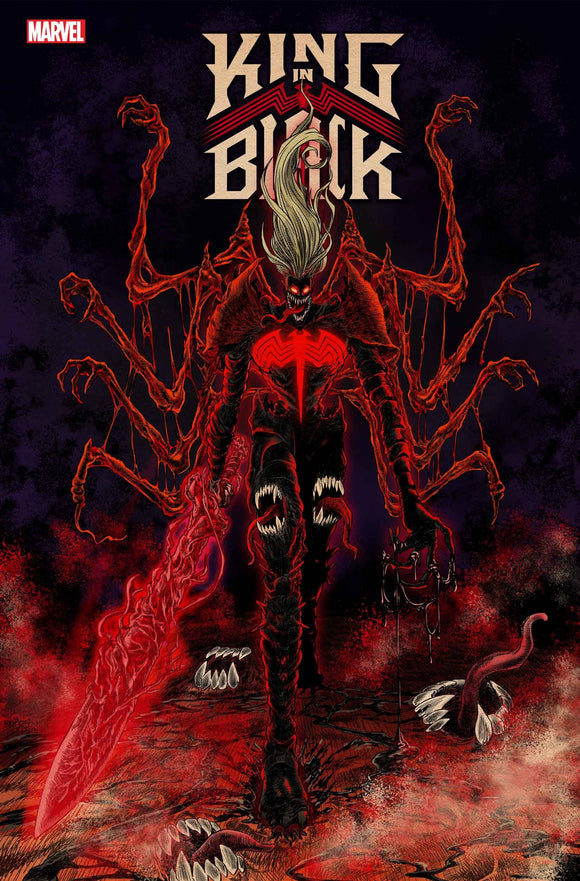 Pre-Order: KING IN BLACK #1 SUPERLOG 1:25 RATIO VARIANT 12/16/20 - Mutant Beaver Comics