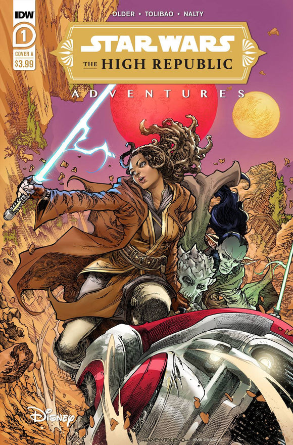 Pre-Order: STAR WARS HIGH REPUBLIC ADVENTURES #1 Cover A (02/03/21) - Mutant Beaver Comics