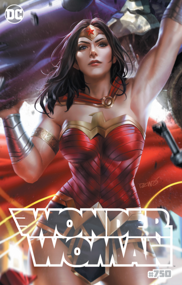 Pre-Order: WONDER WOMAN #750 Derrick Chew Exclusive!