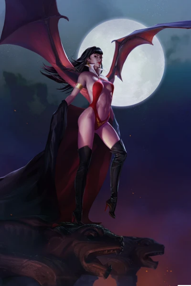 Pre-Order: VAMPIRELLA #19 ELSA KROESE VIRGIN EXCLUSIVE! 05/30/21