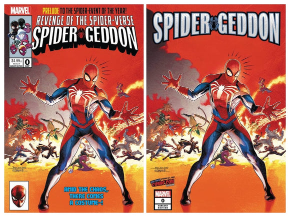 SPIDER-GEDDON #0 Super Pack from Jamal Campbell!!