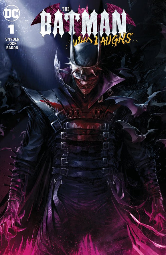 BATMAN WHO LAUGHS #1 Mattina TRADE DRESS Variant! - Mutant Beaver Comics