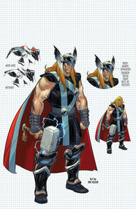 THOR #3 3rd Print VIRGIN Exclusive! - Mutant Beaver Comics