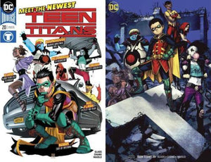 TEEN TITANS #20 Complete Set (Cover A &B) ***1st FULL APPEARANCE CRUSH!***