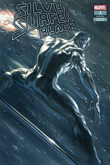 SILVER SURFER BLACK #1 Gabriele Dell 'Otto EXCLUSIVE! - Mutant Beaver Comics