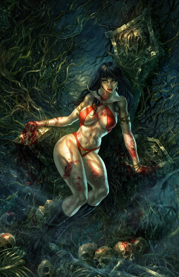 VAMPIRELLA #14 Alan Quah VIRGIN MBC Exclusive! - Mutant Beaver Comics