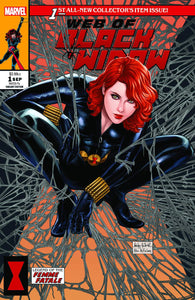 Pre-Order: WEB OF BLACK WIDOW #1 Ashley Witter (McFarlane Homage) EXCLUSIVE! ***Available in TRADE DRESS, and NYCC SET***