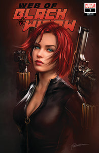 Pre-Order: WEB OF BLACK WIDOW #1 Shannon Maer EXCLUSIVE! ***Available in TRADE DRESS, VIRGIN SET, CGC 9.8 & CGC SS***