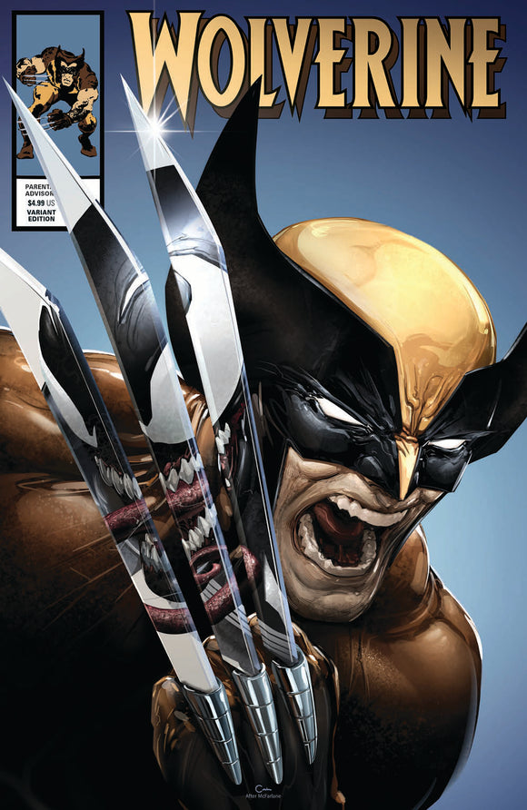 Pre-Order: WOLVERINE #8 (Legacy #350) Clayton Crain Exclusive! 01/30/20 - Mutant Beaver Comics