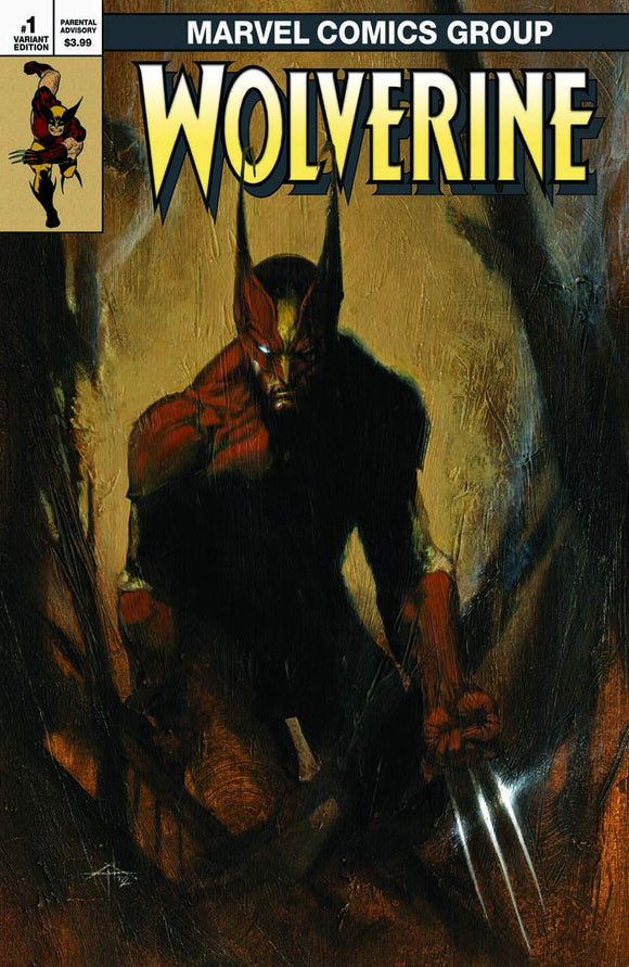 WOLVERINE INFINITY WATCH Dell 'Otto Classic Exclusive with COA!! ***Limited to ONLY 600 Copies!*** - Mutant Beaver Comics