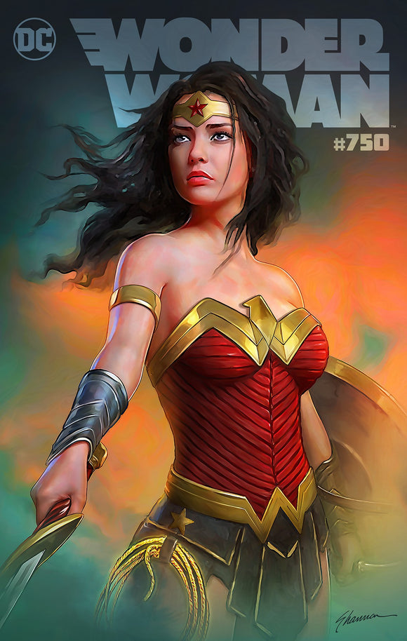 WONDER WOMAN #750 Shannon Maer Exclusive! ***Available in TRADE DRESS, CGC 9.8 and CGC SS*** (Limited to ONLY 750)